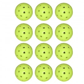 Franklin Sports X-40 Performance Outdoor Pickleballs - USAPA Approved - Official Ball of US Open Pickleball Championships - One Dozen