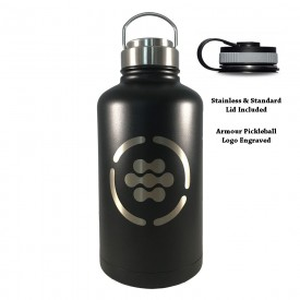 64oz Jugy Growler Water Flask (Bottle) - Engraved with Armour Logo